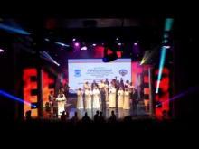 توزيع الجوائز في الدورة العاشرة لمهرجان أيام المسرح للشباب