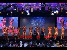 Snap Video - Platinum Body Building Figure Competition 2015